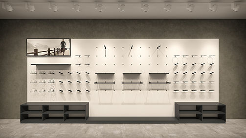 Shop Design Solutions | Wall Systems | Point System