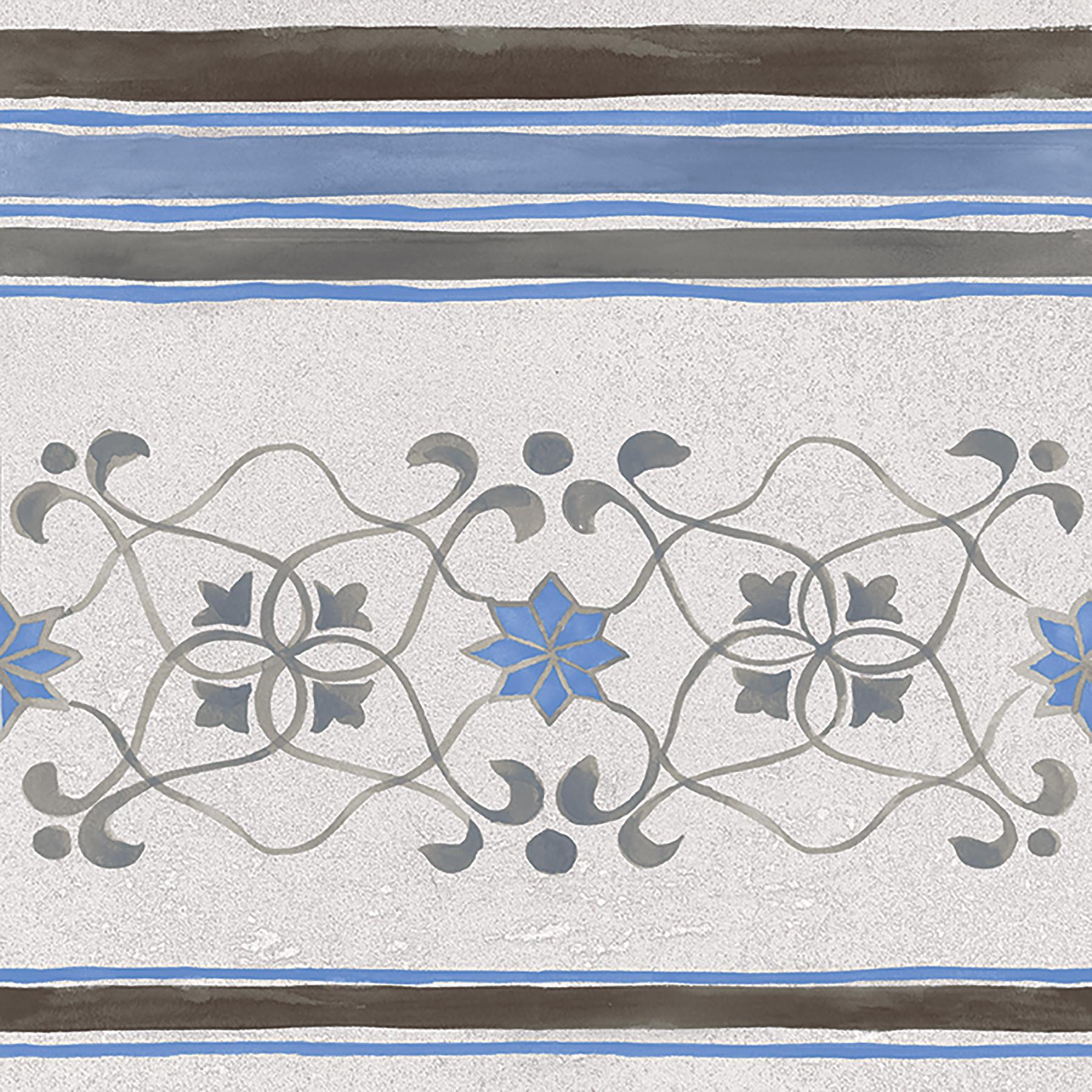 PERUGIA 20x20 Blue Border