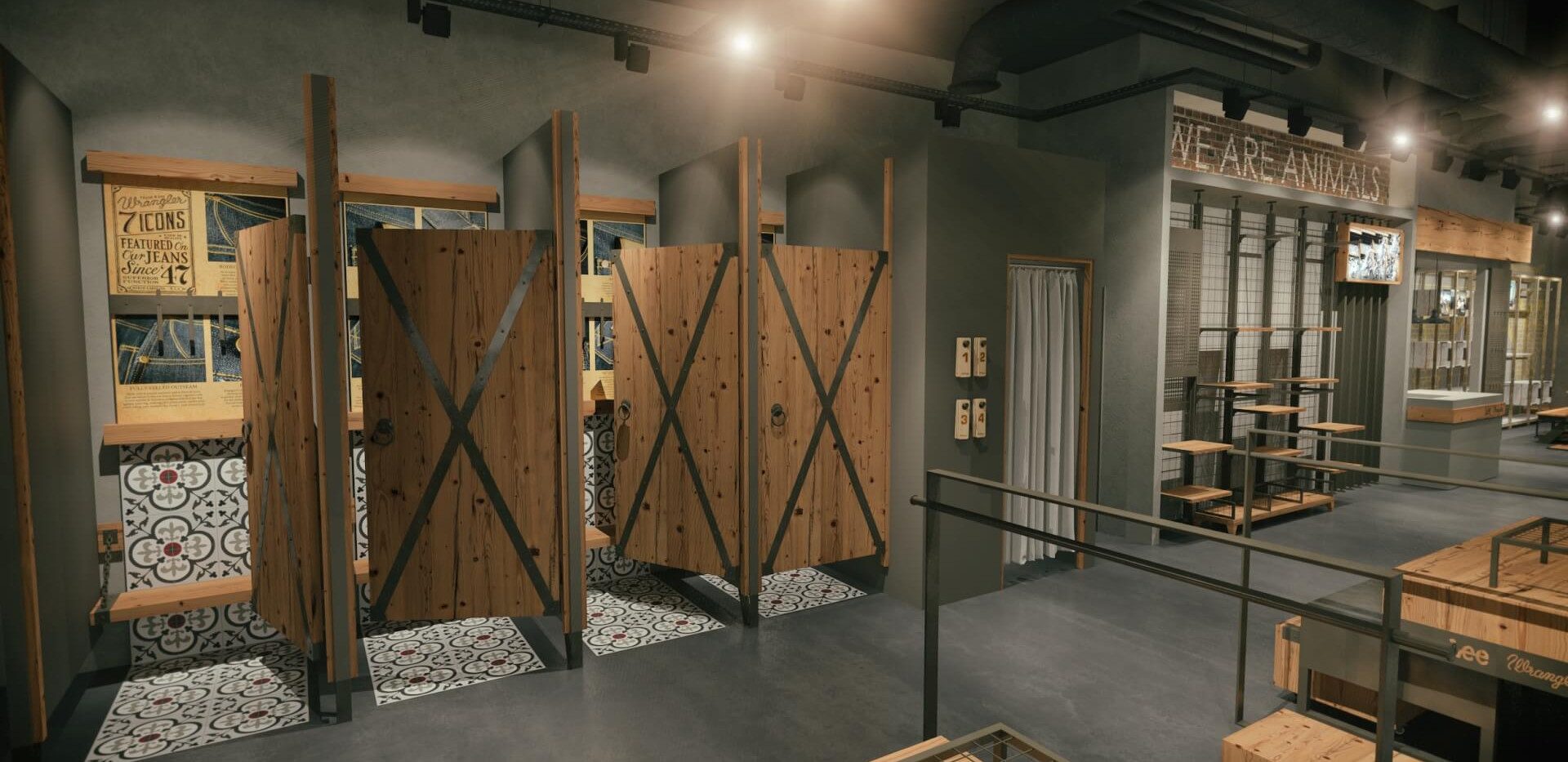 Lee Wrangler - Denim Store Shop Design-6