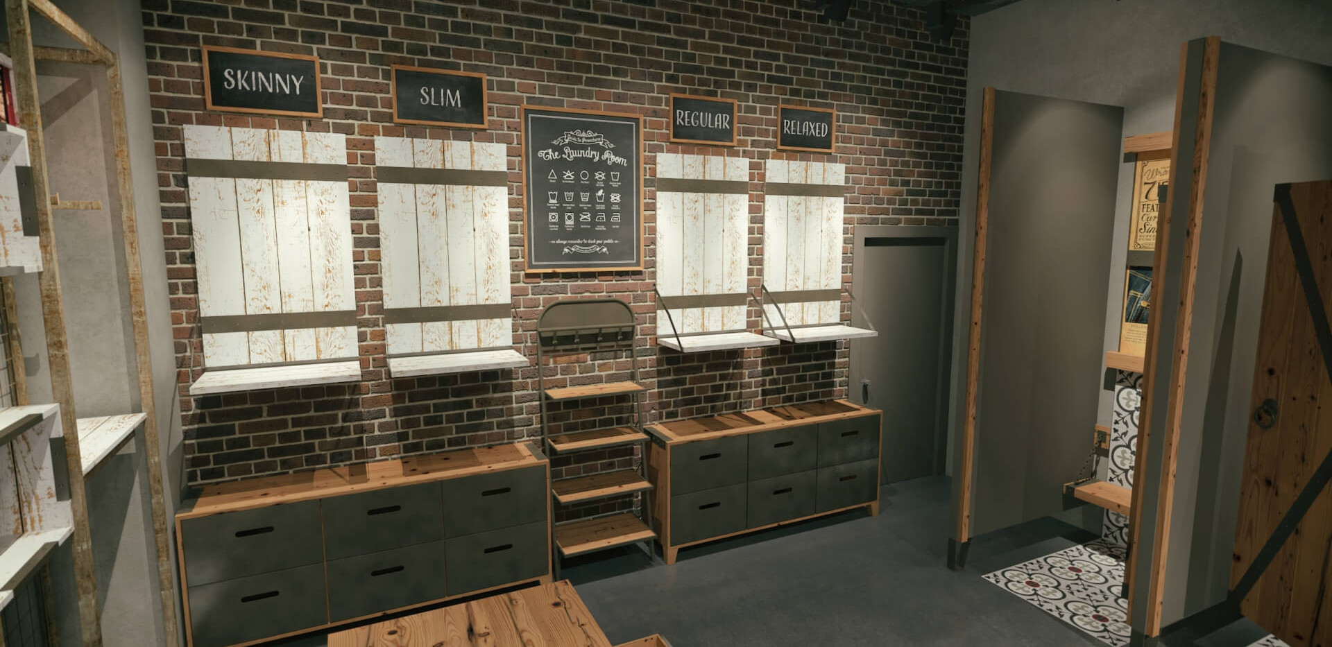 Lee Wrangler - Denim Store Shop Design-5