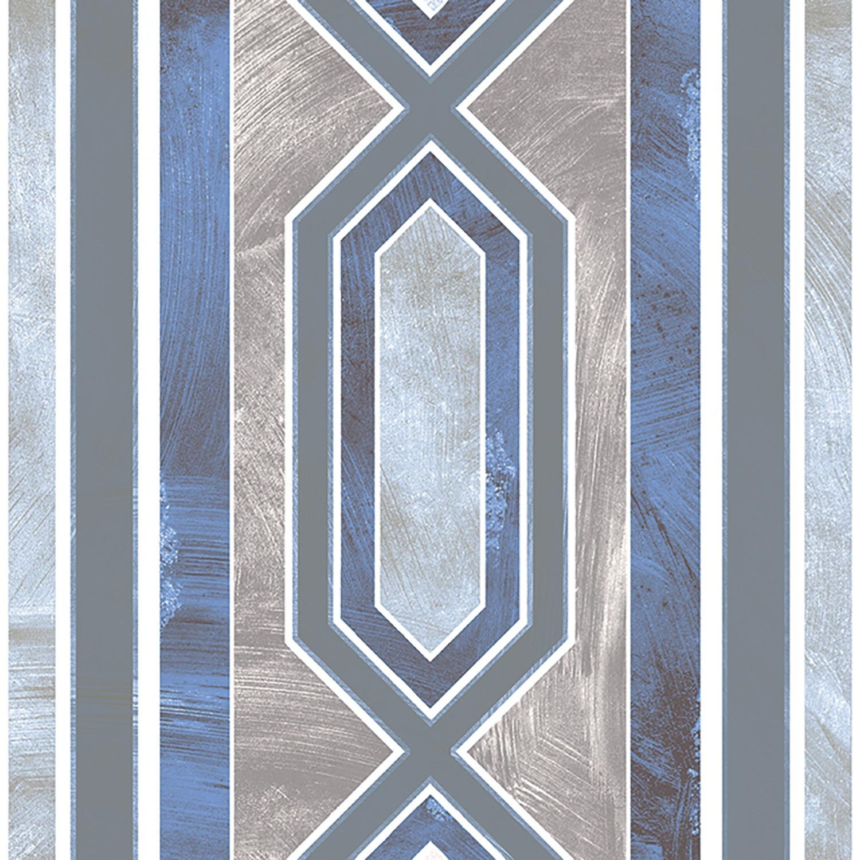 MONZA 20x20 Blue Border