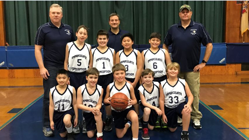 4th grade boys white