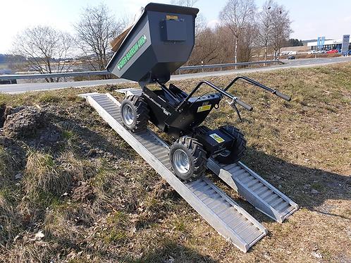 Elektroschubkarre Muck-Truck PowerBarrow 4WD