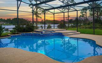Sunrise Pool Lake House