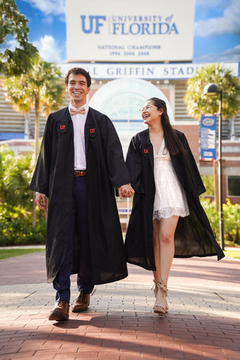 Grad Couple