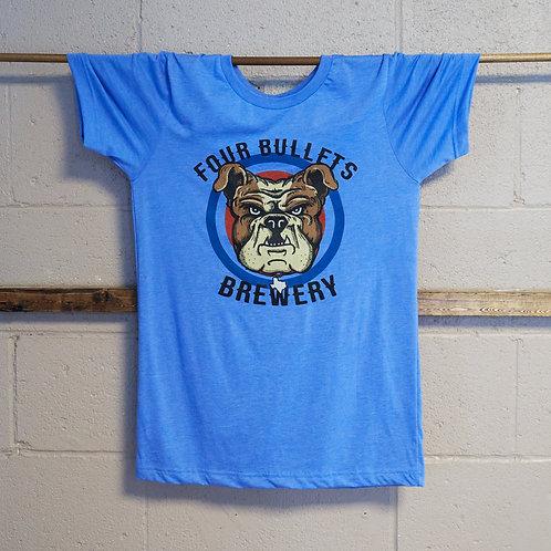 4 Bullets Bulldog T-Shirt