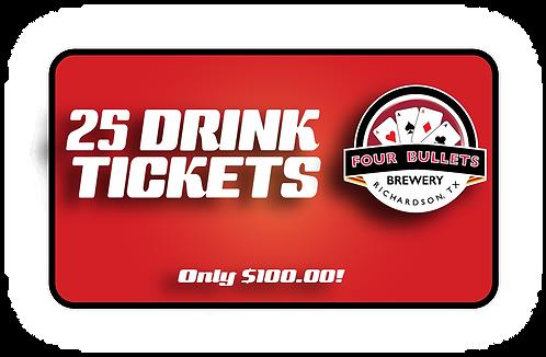 $100 DRINK TICKET