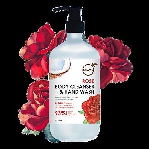 Sabayaa Rose Body Cleanser
