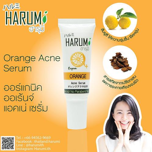 Harumi Organic Orange Acne Serum