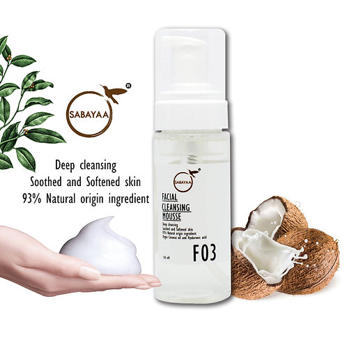 Sabayaa Facial Cleansing Mousse