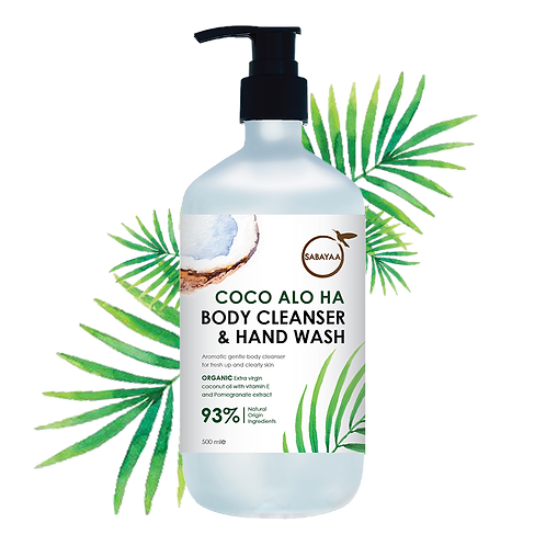 Sabayaa Coco Alo Ha Body Cleanser
