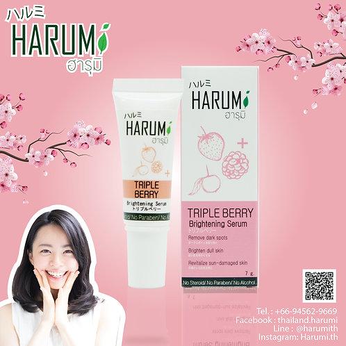 Harumi Triple _Berry Brightening Serum