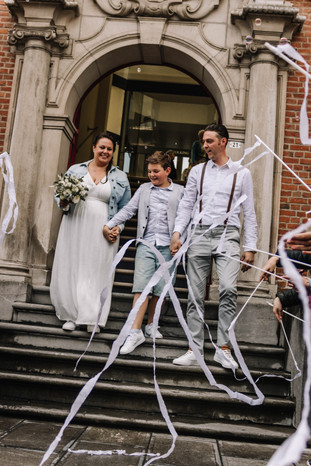 Tied the knot