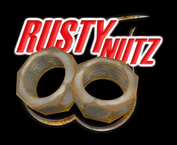 Rusty Nutz Logo