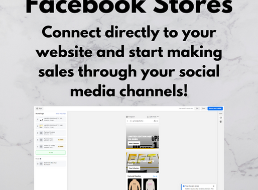 Facebook Stores: Earn Money Through Your Social Media Channels!