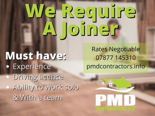 We're Looking for a Joiner