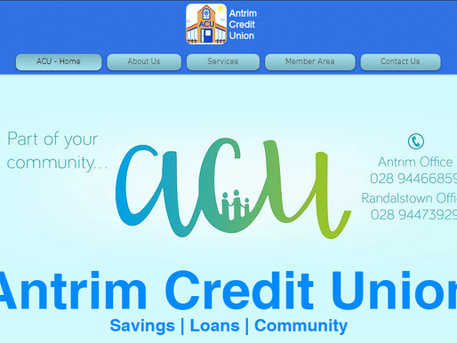 Antrim Credit Union Blog Rebuild