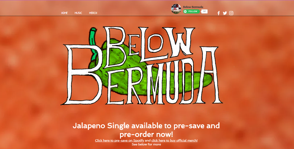 Below Bermuda Main Page