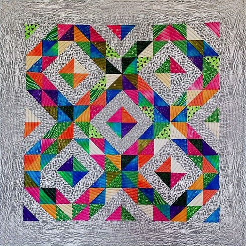 Sew Many Triangles...Sooo Little Time - Baltimore Heritage Quilt Guild