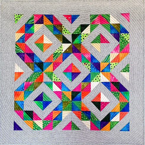 """Mancuso Online Quiltfest """"Sew Many Triangles...Sooo Little Time"""