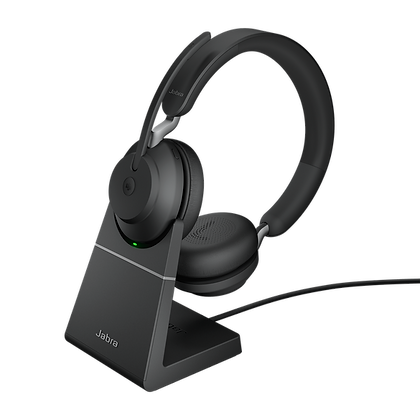 Jabra Evolve2 65 Stereo With Charging Stand Wireless Headset