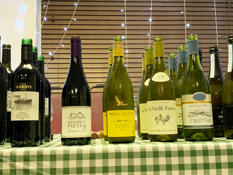 WivSoc Wine Tasting supported by  the East of England Co-op