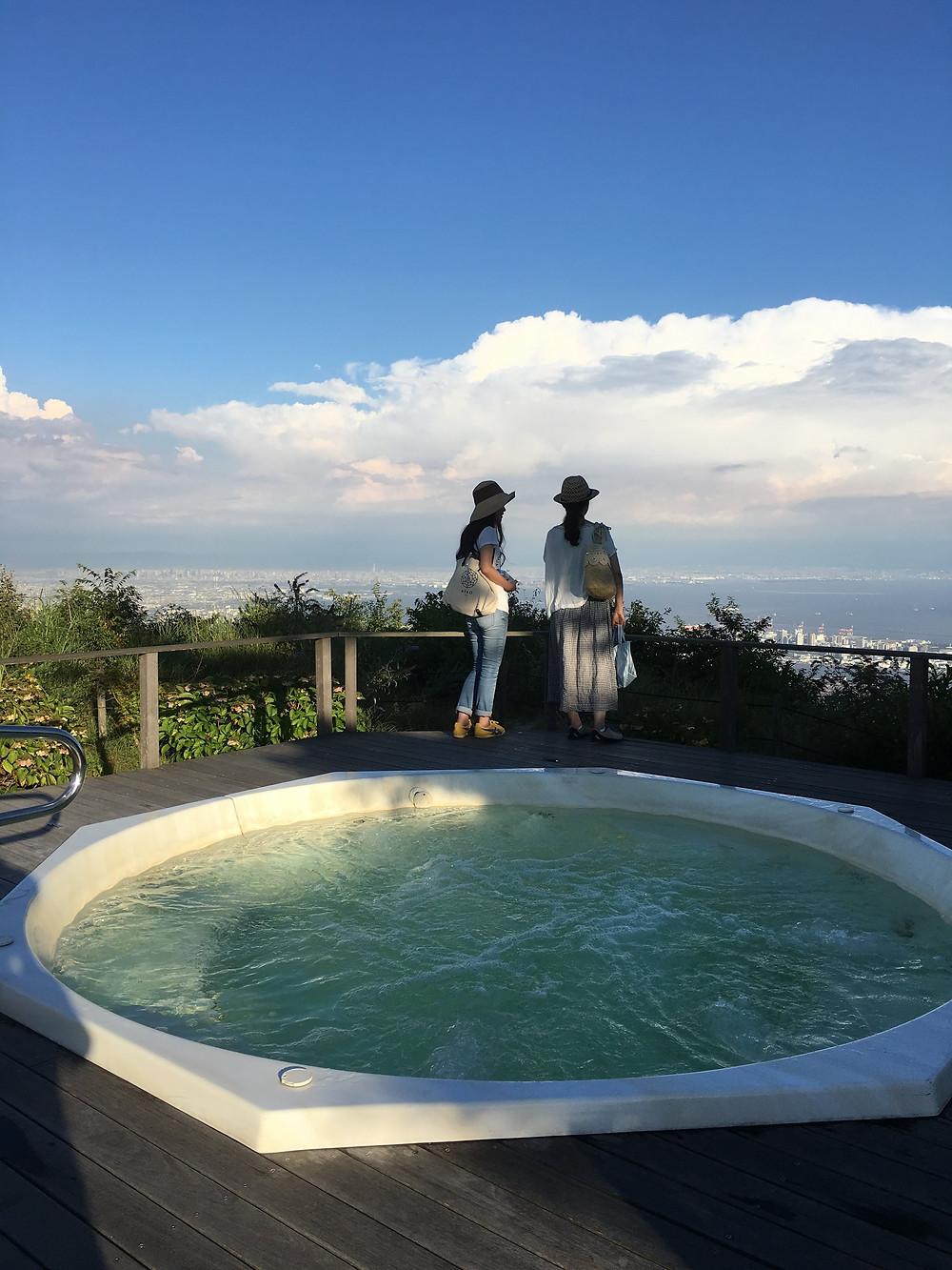 摩耶山頂からの眺め