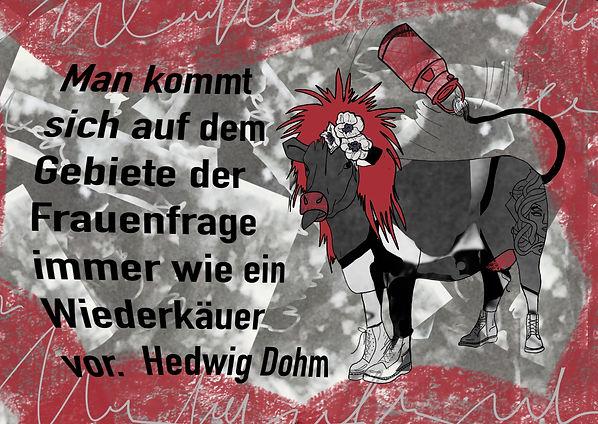Zitat Hedwig Dohm