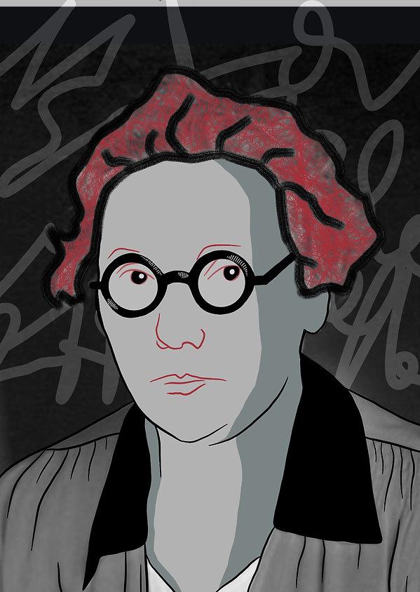 Portrait Marie Juchacz - Brigitte Boomga
