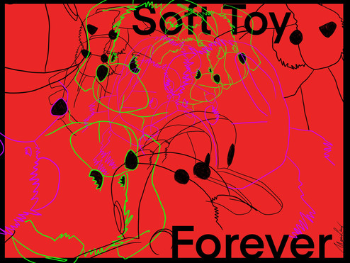 SOFT TOY__ARTWORK SERIES / exhibition @kreativkollektiv