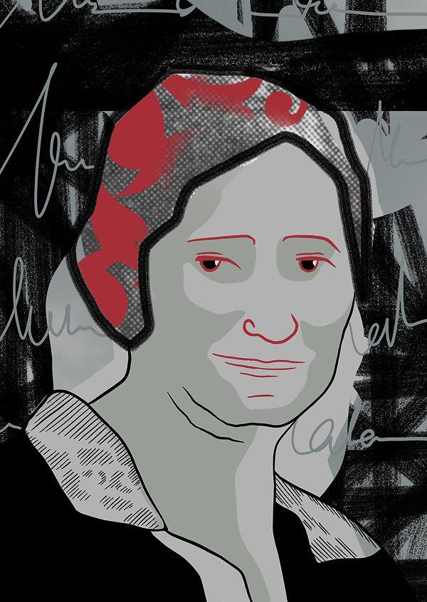 Portrait Anna Stiegler - Brigitte Boomga