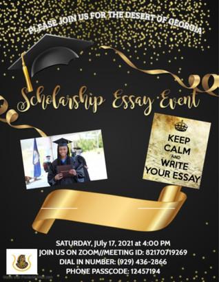 Scholarship Essay Event