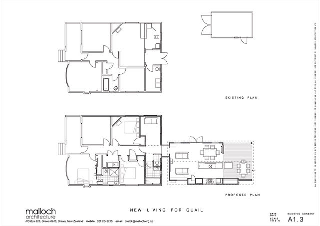 patrick malloch architecture alteration plan