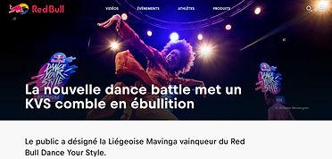 winner redbull dance your style 2018 Mavinga housedance Belgium