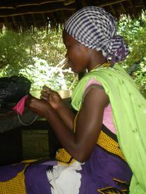 Sewing in Muhaka
