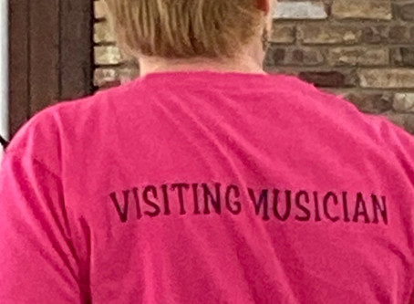 Visiting Musicians Blog: Introductions