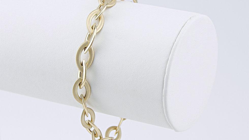 Armband Armkette Spitzankerkette 19 cm, 585 Gold