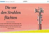 Die vor den Strahlen flüchten, Salzburger Nachrichten