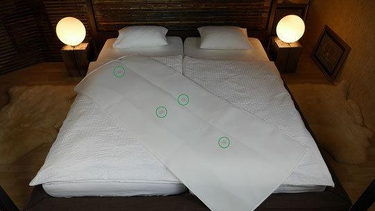 ZES Vision Medipad PRO, Schlafmatte mit 4 Body PRO Chips