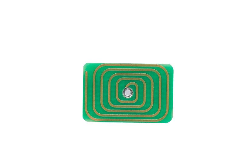 ZES Vision Body PRO mini Vorderseite mit Antenne, Einsatz im ZES Vision Armband