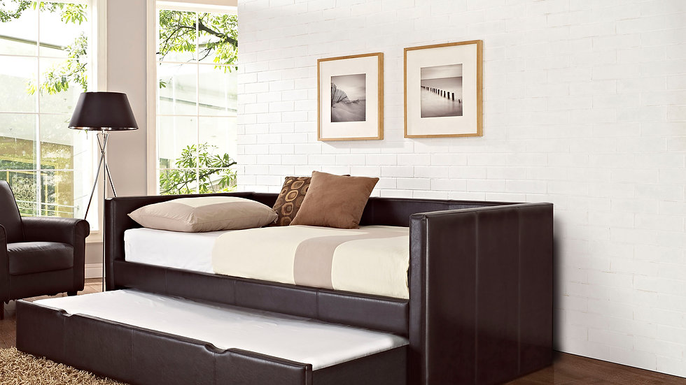 LINDSEY BROWN DAYBED