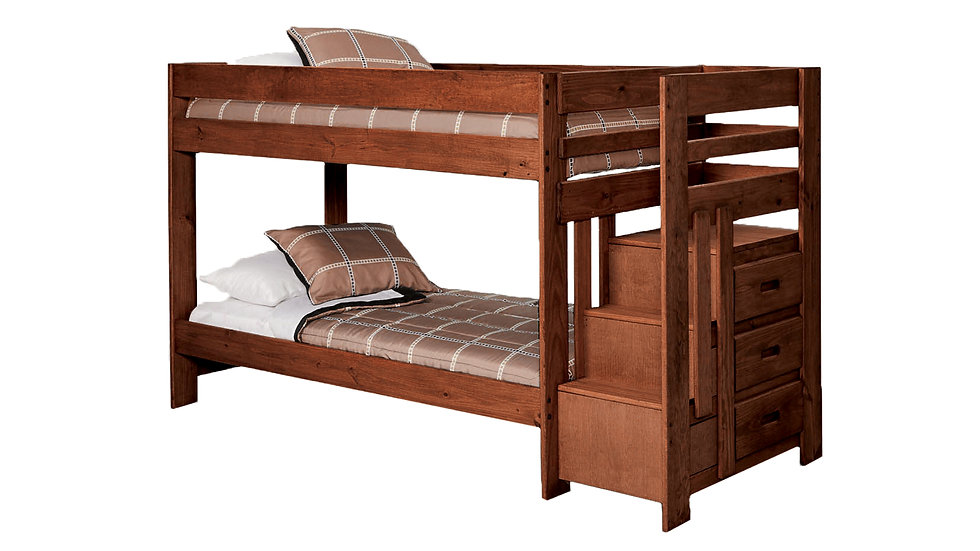 STAIR BED TWIN / TWIN