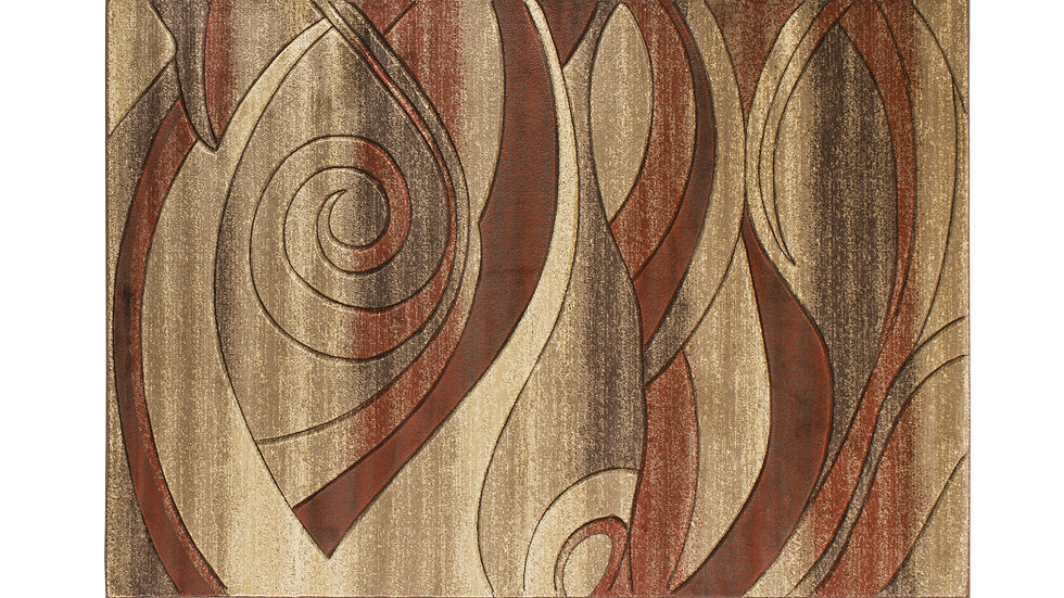 ORELSI COLLECTION BROWN/TERRA