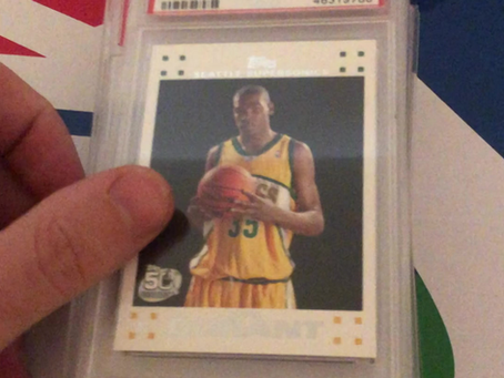 """Blog 7/24 Titled: Sports Cards Investments. """"It's been 2 months and this is what happened"""""""