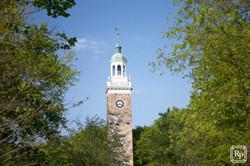 close clock tower