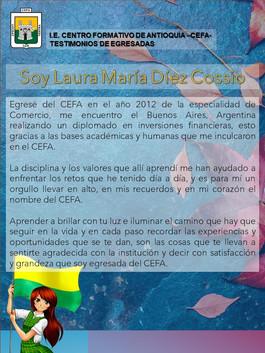 Laura María Díez Cossio