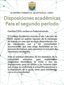 Disposiciones Academicas P2