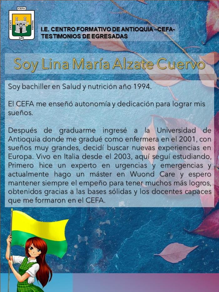 Luisa María Alzate Cuervo