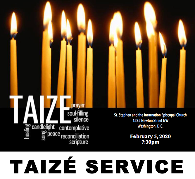 Taize Service | St. Stephen and the Incarnation Episcopal Church