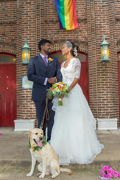 Wedding at St. Stephen and the Incarnation Episcopal Church